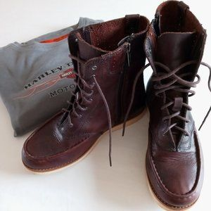 Gorgeous Harley-Davidson  brown leather boots